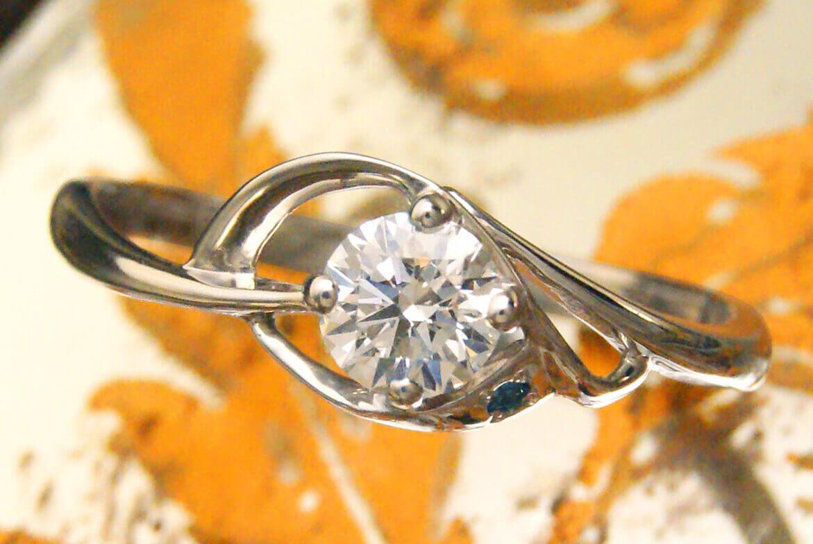 セミオーダーメイド | 完成 | かざりやゆい | 世界に一つだけの結婚指輪「kazariya Yui」 | 福島県郡山市