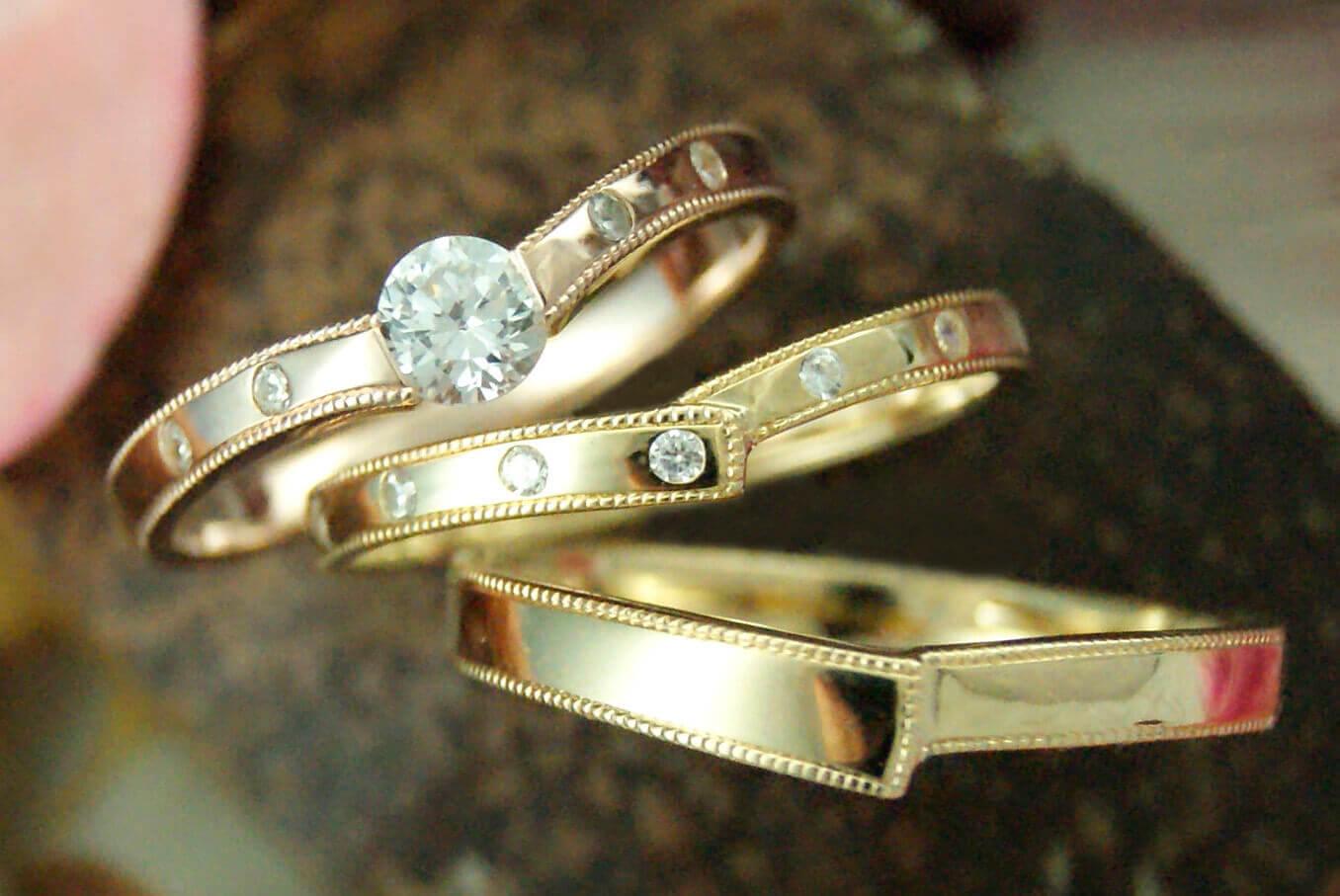 デザイン | アンティーク | かざりやゆい | 世界に一つだけの結婚指輪「kazariya Yui」 | 福島県郡山市