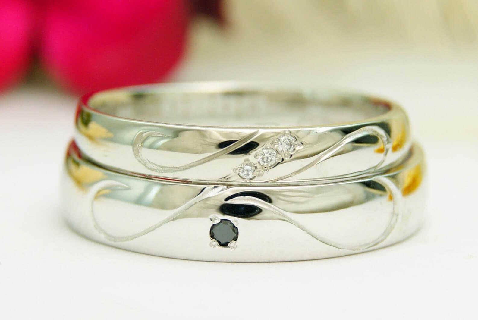 デザイン | イニシャル | かざりやゆい | 世界に一つだけの結婚指輪「kazariya Yui」 | 福島県郡山市