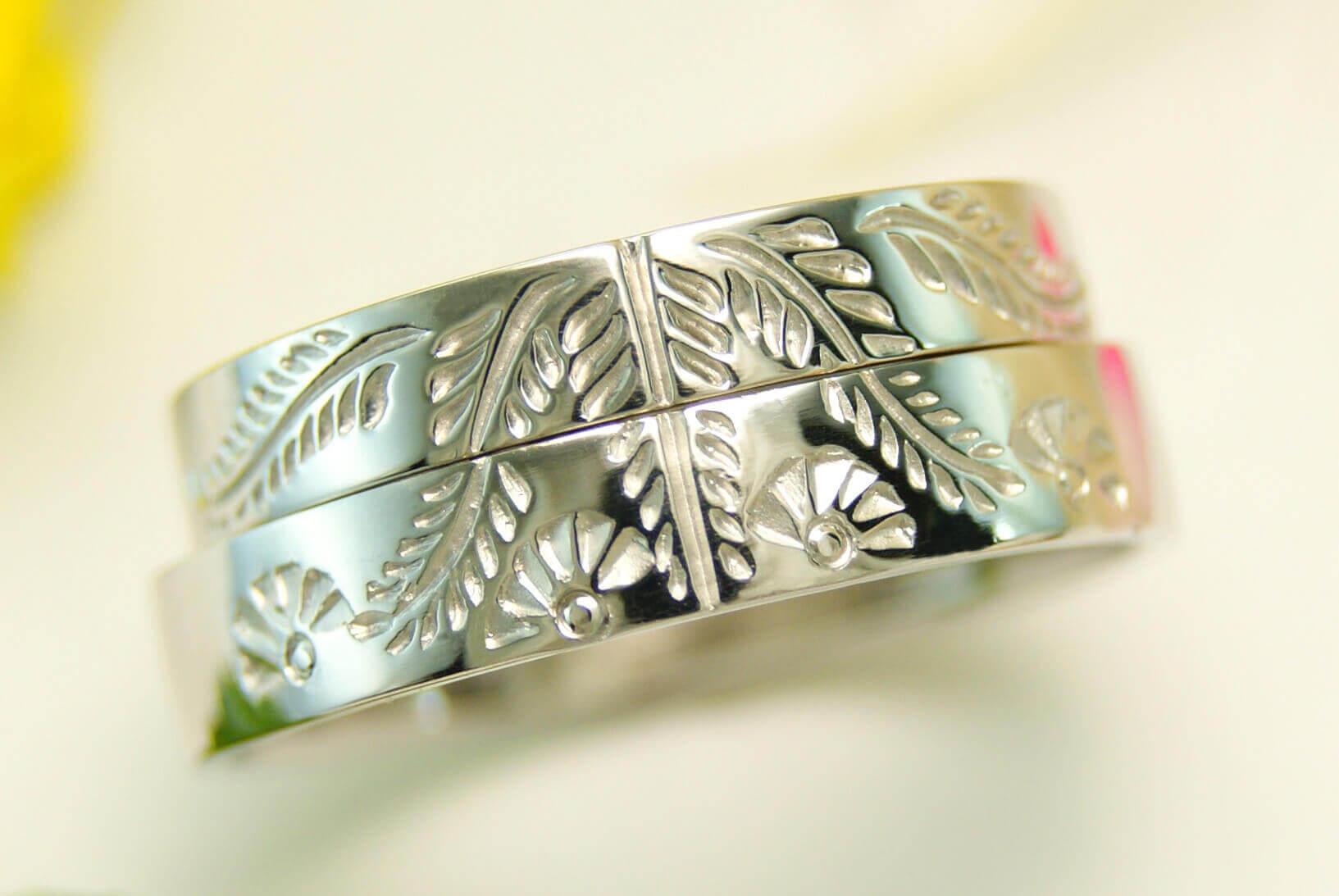 デザイン | 和風 | かざりやゆい | 世界に一つだけの結婚指輪「kazariya Yui」 | 福島県郡山市