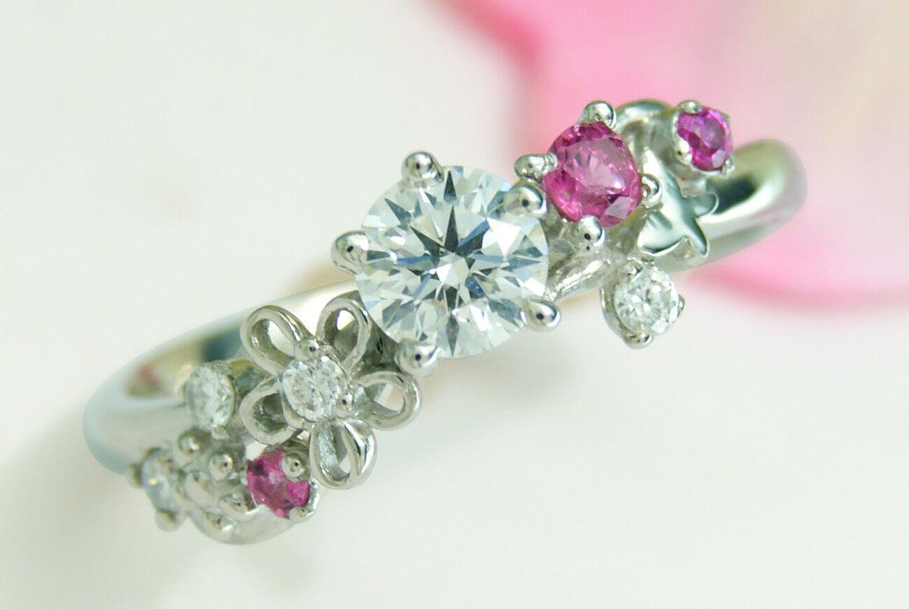 加工法 | 取り扱いルース | かざりやゆい | 世界に一つだけの結婚指輪「kazariya Yui」 | 福島県郡山市