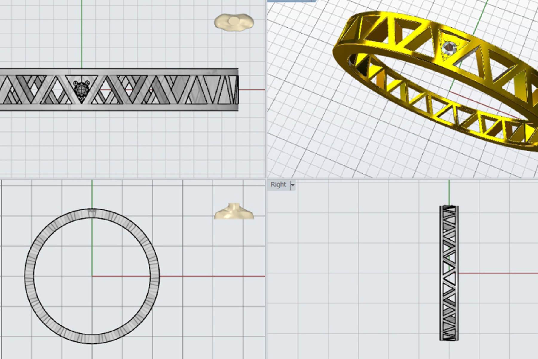 オーダーメイド・製法 | ジュエリーCAD・3Dプリンタ | かざりやゆい | 世界に一つだけの結婚指輪「kazariya Yui」 | 福島県郡山市