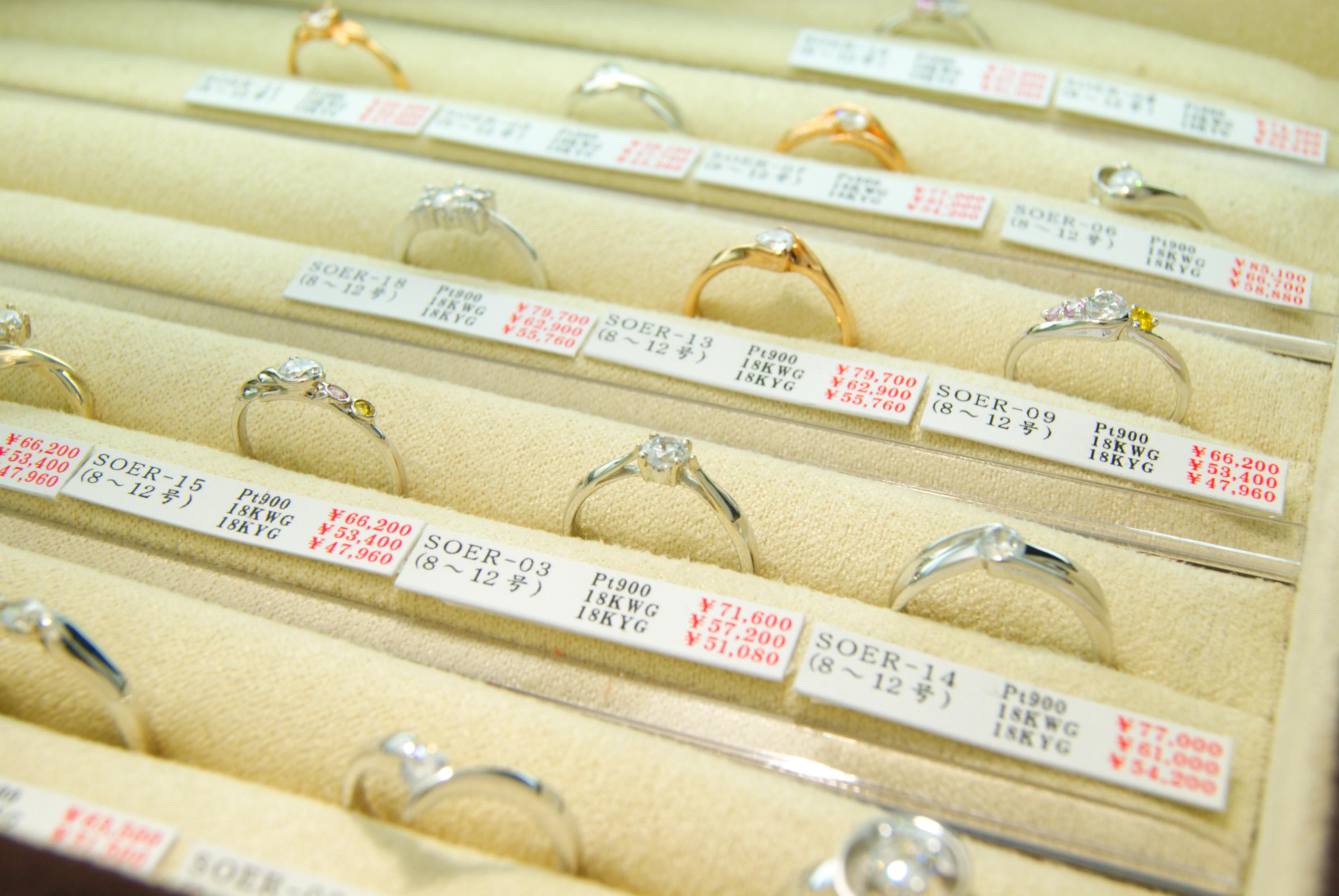 フルオーダーメイド | 時間がないおふたりへ | かざりやゆい | 世界に一つだけの結婚指輪「kazariya Yui」 | 福島県郡山市