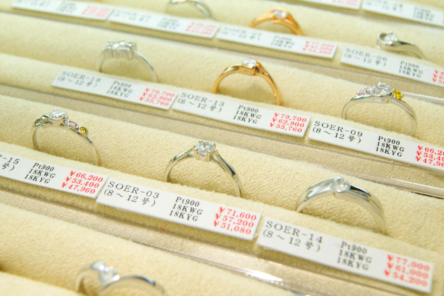 セミオーダーメイド | 指輪選び・アレンジ | かざりやゆい | 世界に一つだけの結婚指輪「kazariya Yui」 | 福島県郡山市