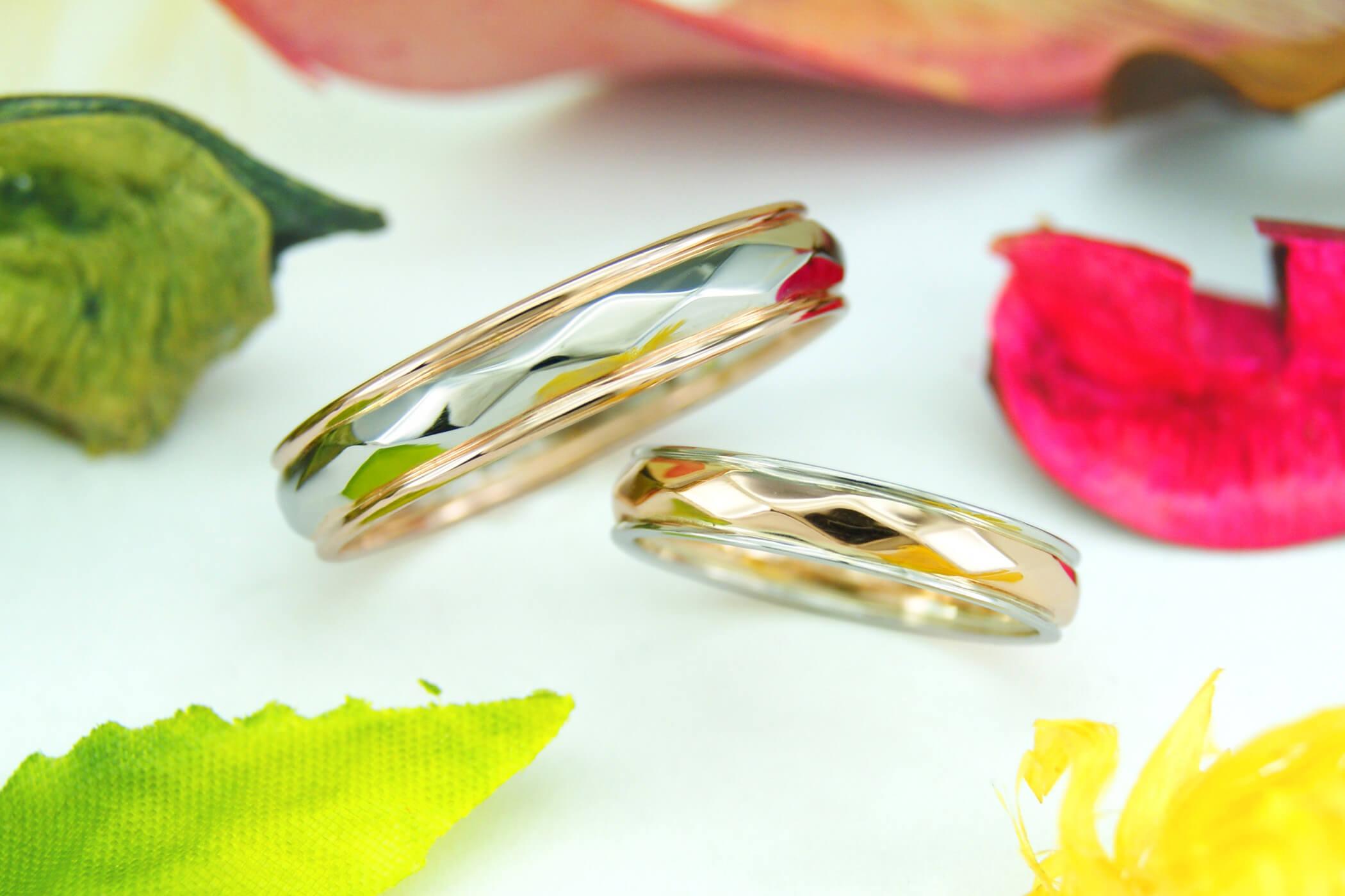 セルフメイド | 完成 | かざりやゆい | 世界に一つだけの結婚指輪「kazariya Yui」 | 福島県郡山市
