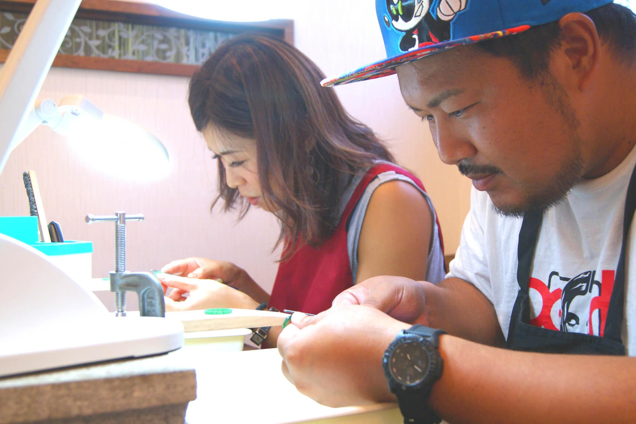 セルフメイド | 原型手作り体験 | かざりやゆい | 世界に一つだけの結婚指輪「kazariya Yui」 | 福島県郡山市