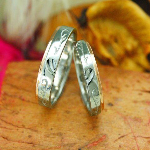 世界に一つだけの結婚指輪 kazariyaYui 福島県郡山市 結婚指輪