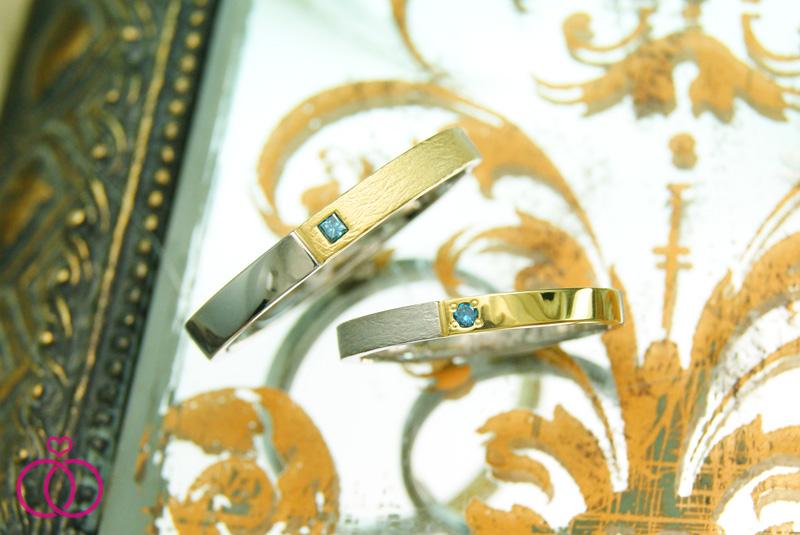 世界に一つだけの結婚指輪 kazariyaYui 福島県郡山市 北欧
