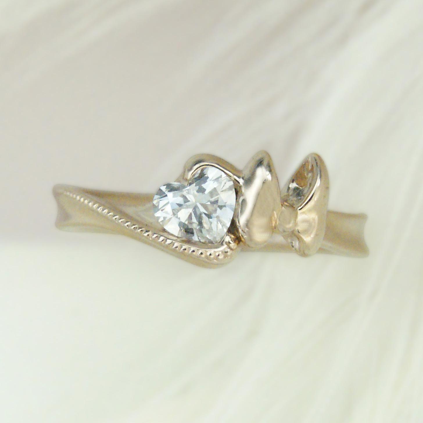 世界に一つだけの結婚指輪 kazariyaYui 福島県郡山市 婚約指輪