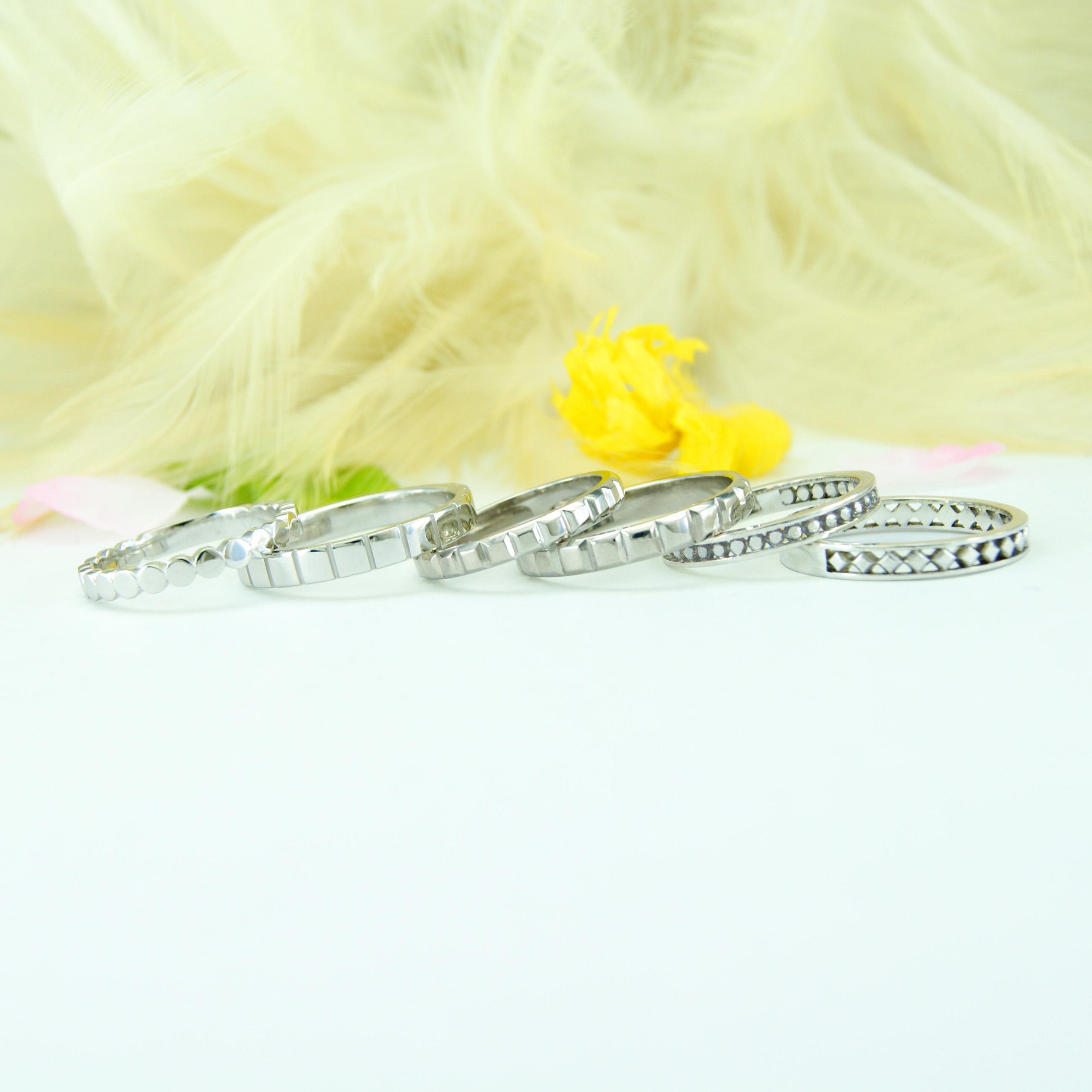 世界に一つだけの結婚指輪「kazariya Yui」 福島県郡山市 コレクションリング モダンデザイン