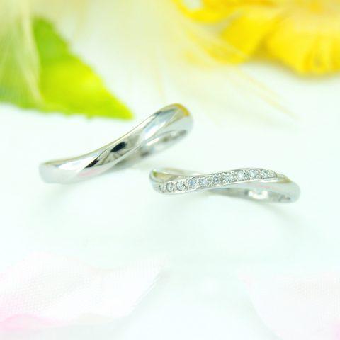 世界に一つだけの結婚指輪 kazariyaYui 福島県郡山市 結婚指輪 エタニティ
