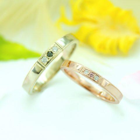 世界に一つだけの結婚指輪「kazariya Yui」 福島県郡山市 結婚指輪