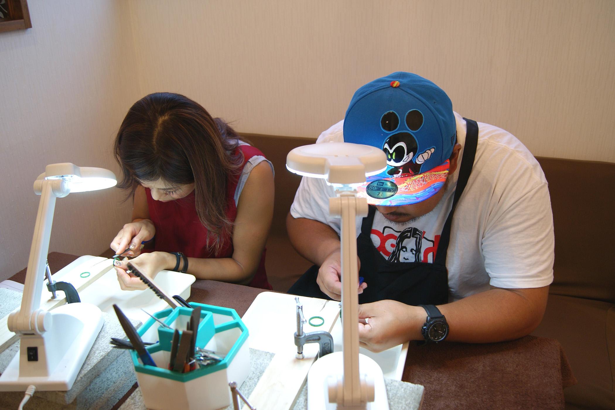 世界に一つだけの結婚指輪 kazariyaYui 福島県郡山市 結婚指輪 手作り