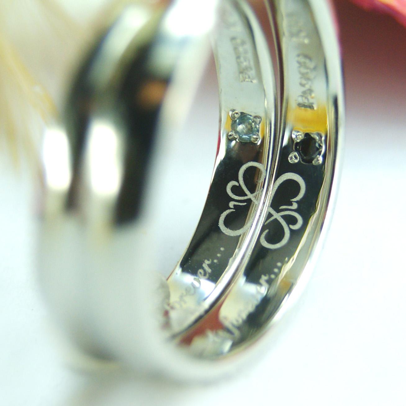 結婚指輪 オーダーメイド kazariyaYui 福島県郡山市 クローバー