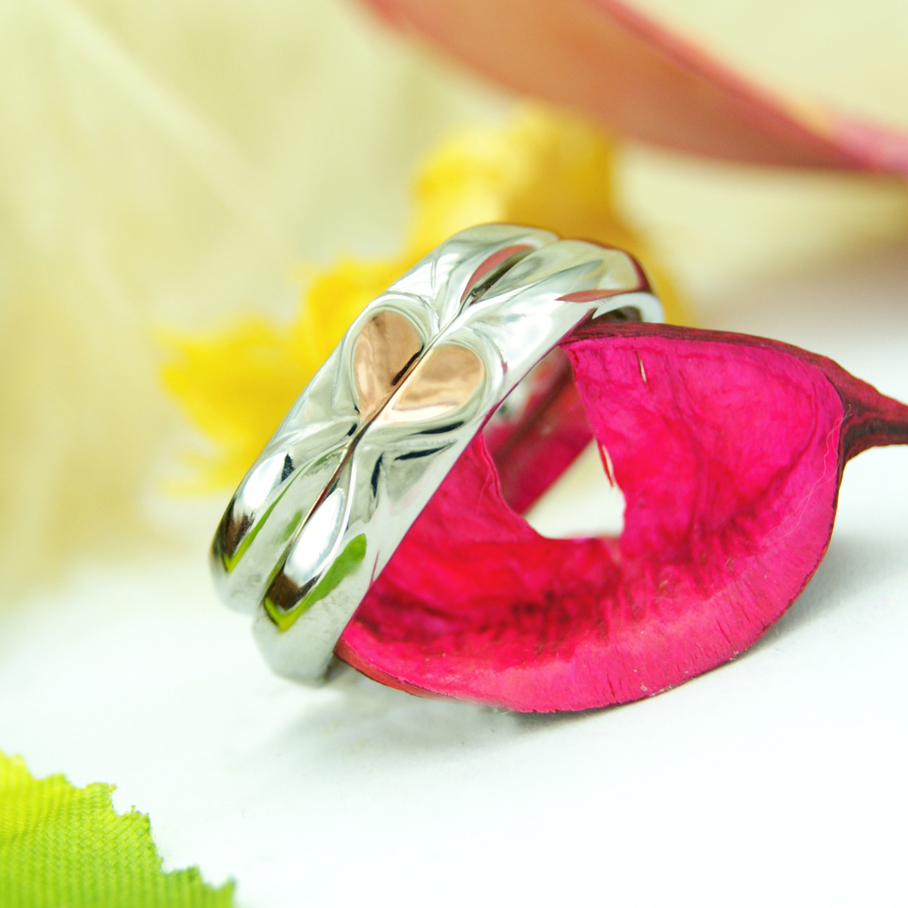 結婚指輪 オーダーメイド kazariyaYui 福島県郡山市 ハート