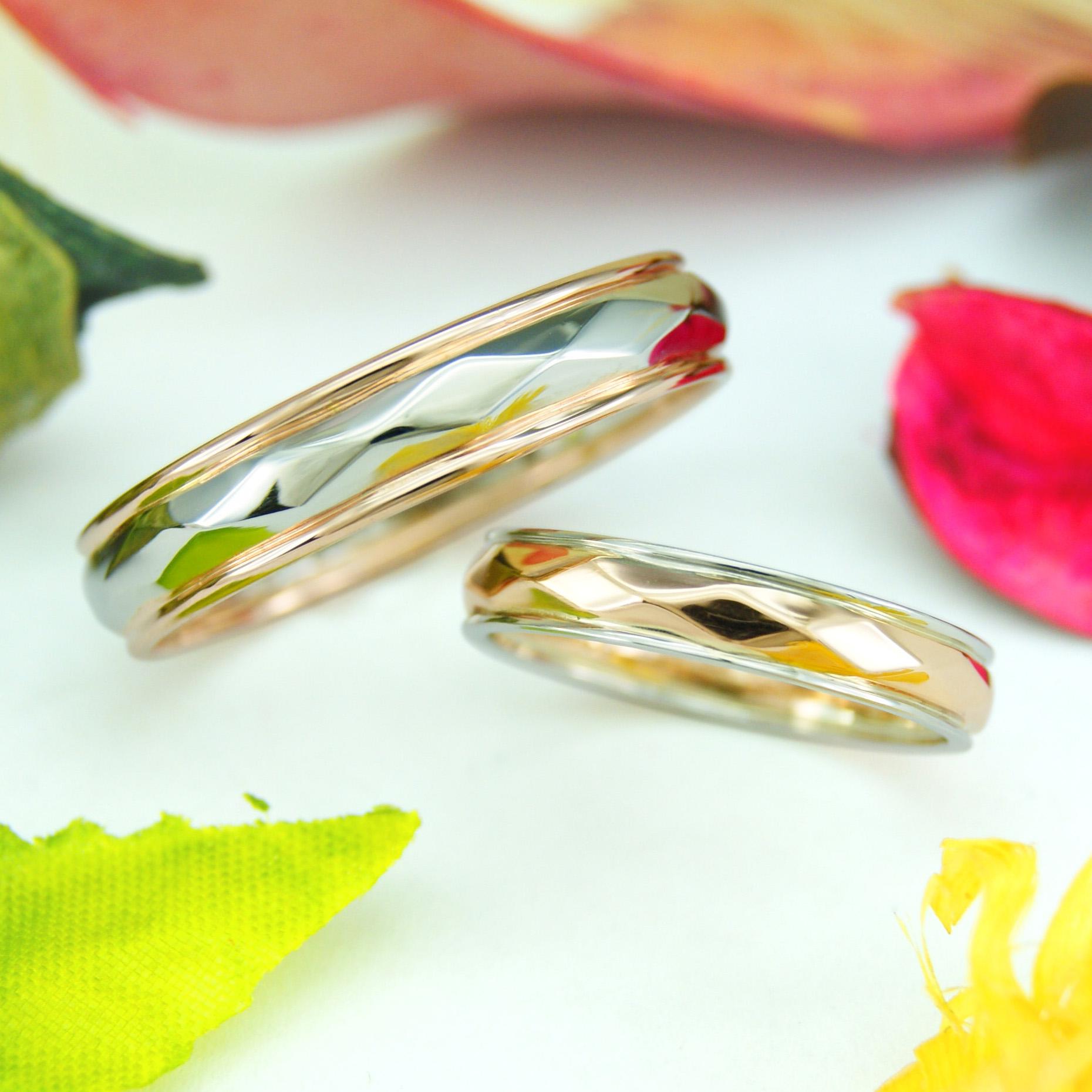 世界に一つだけの結婚指輪 kazariyaYui 福島県郡山市 手作り