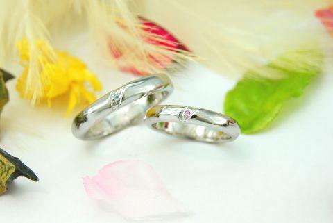 結婚指輪 オーダーメイド kazariyaYui 福島県郡山市 海 水