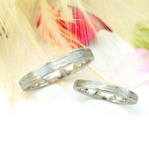 ふたりで手作りしたセルフメイドの結婚指輪