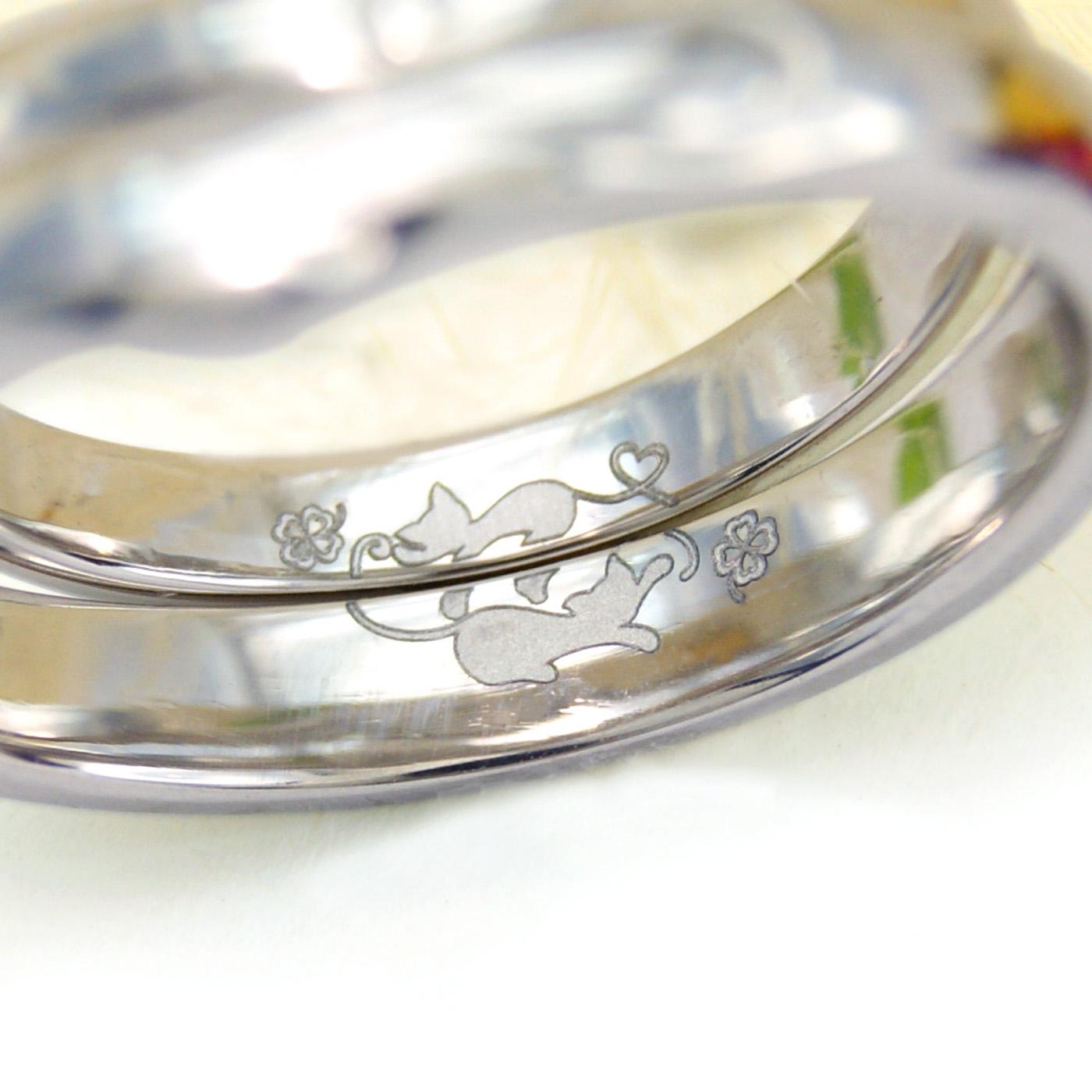 結婚指輪に内側に込めたふたりの秘密