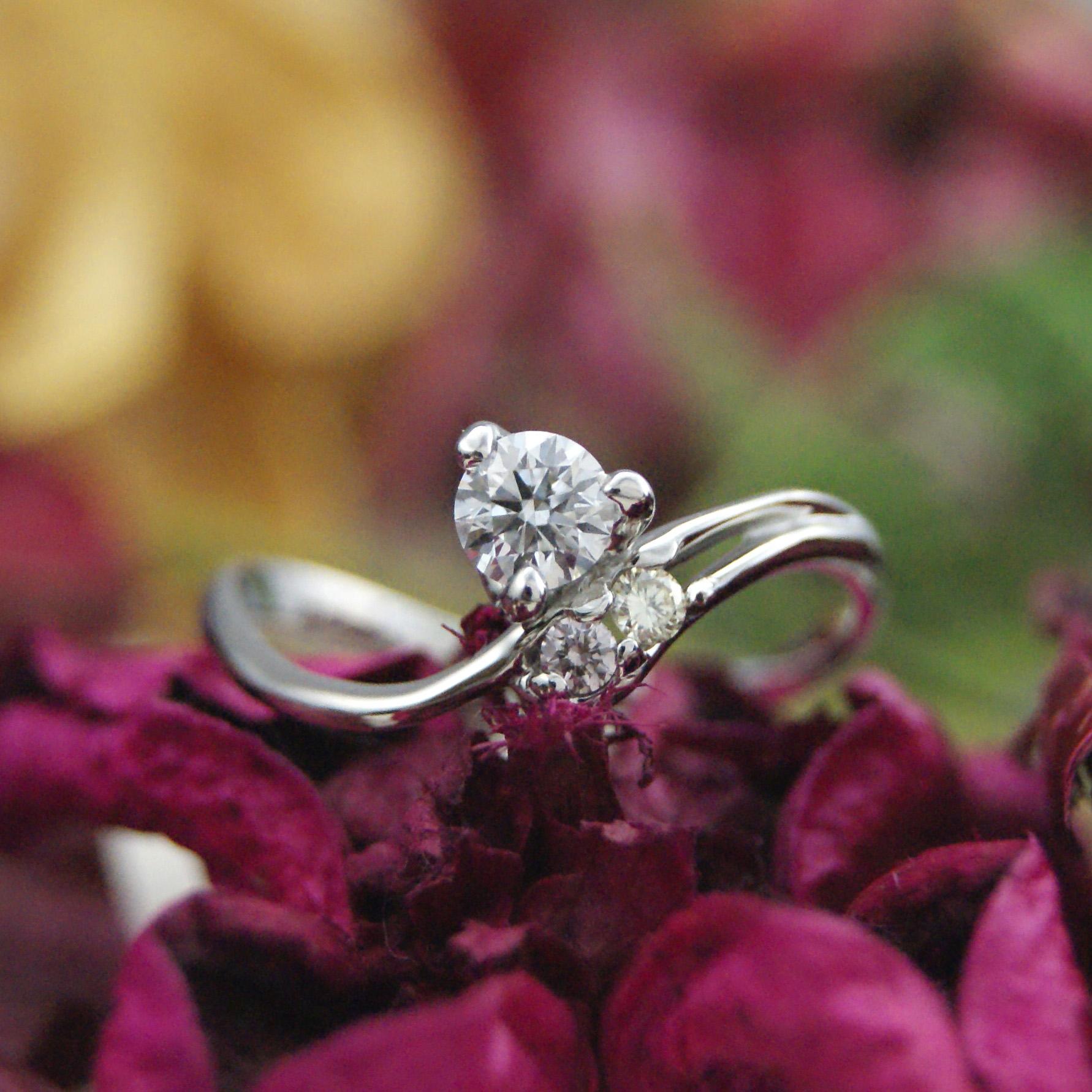 婚約指輪人気のデザインアイコン