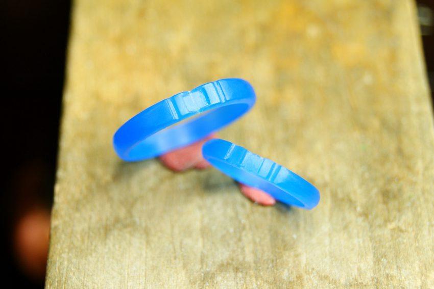 カップルが手作りした結婚指輪の原型