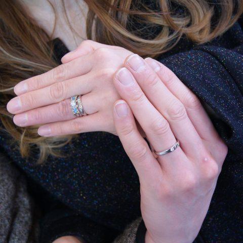 指輪のサイズの測り方アイコン