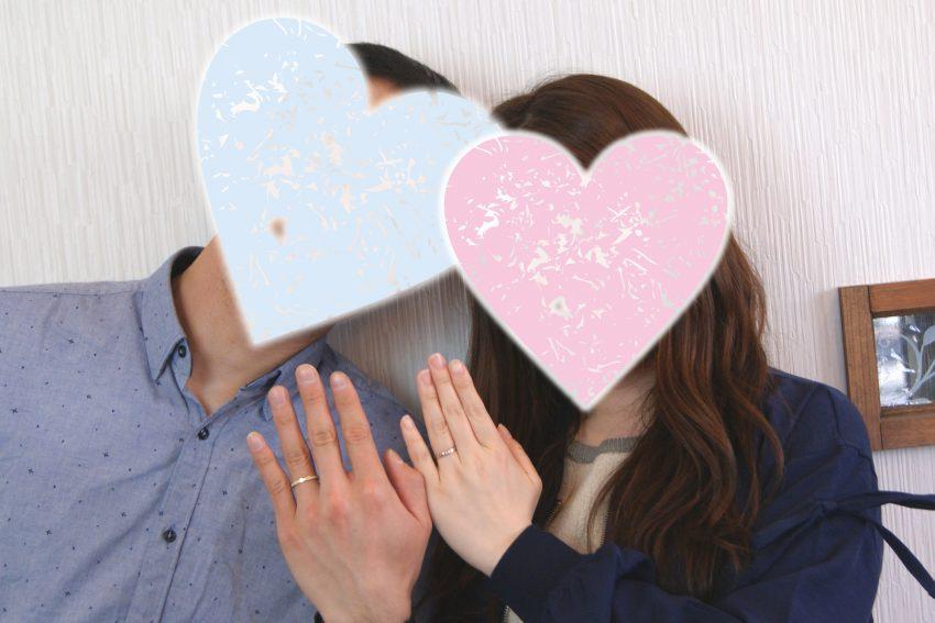結婚指輪をご依頼頂きました郡山市にお住いのNさんご夫妻