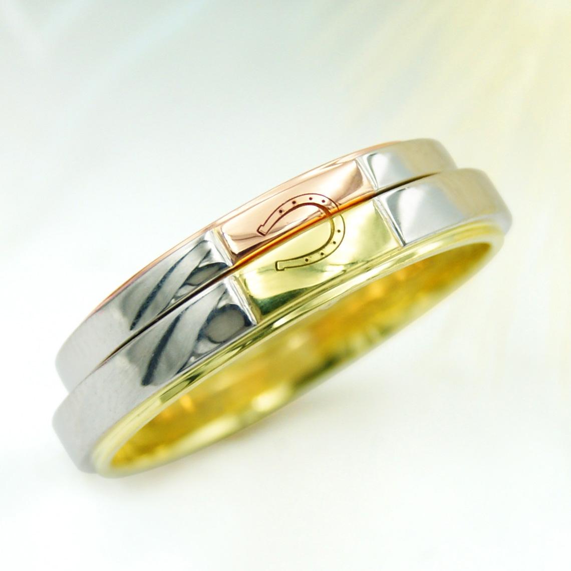 ホースシューの結婚指輪/福島県郡山市