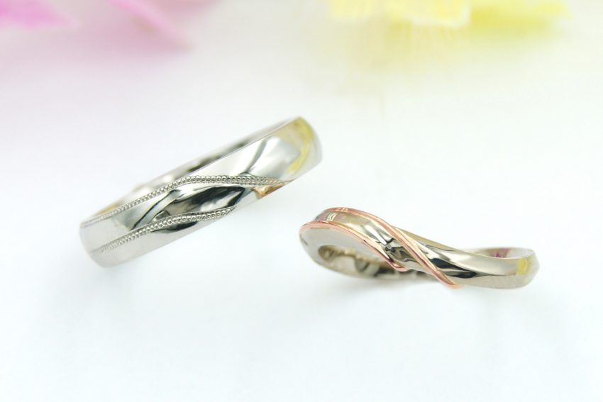 オーダーメイドの結婚指輪/kazariyaYui福島県郡山市