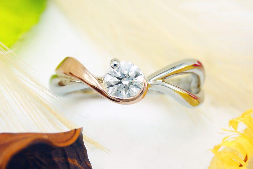 オーダーメイドの婚約指輪/kazariyaYui福島県郡山市