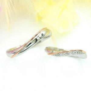 エタニティラインの結婚指輪/福島県郡山市