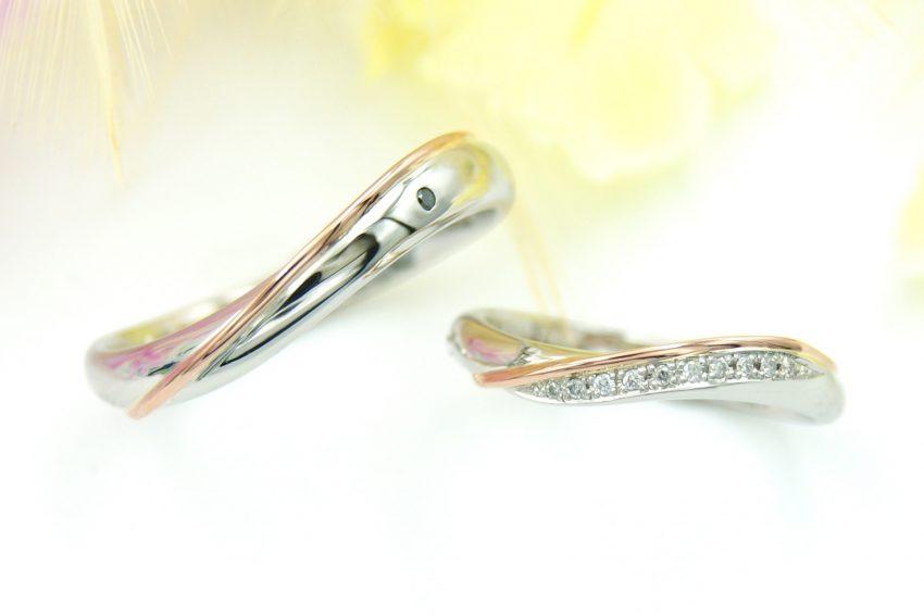 エタニティラインの結婚指輪/kazariyaYui福島県郡山市