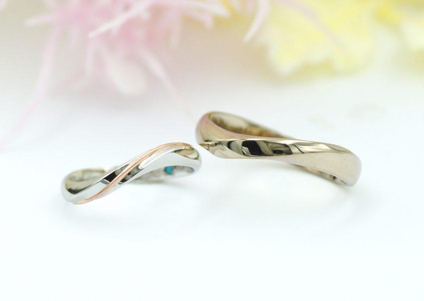 結婚指輪をご依頼頂きました二本松市からお越しの丹野さんご夫妻/kazariyaYui福島県郡山市