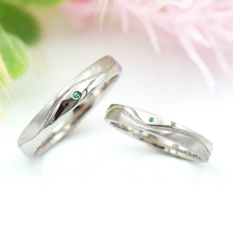 手作りの結婚指輪~海と暁の指輪~/kazariyaYui福島県郡山市