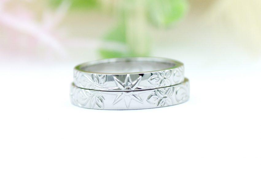 ハワイアンジュエリーの結婚指輪太陽/kazariyaYui福島県郡山市