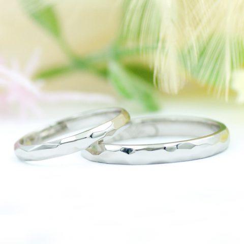 ふたりで手作りした北欧デザインの結婚指輪/kazariyaYui福島県郡山市