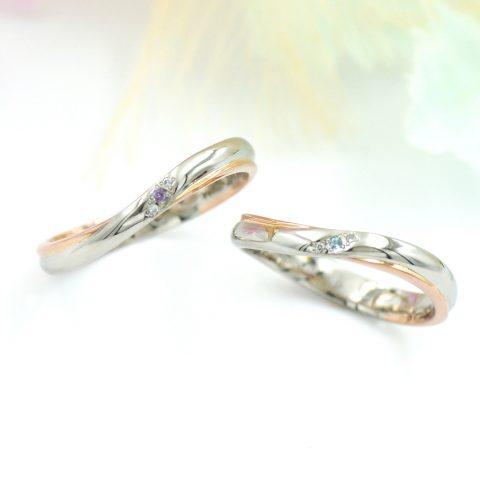 いわき市からお越しの作山さんご夫妻の結婚指輪/kazariyaYui福島県郡山市