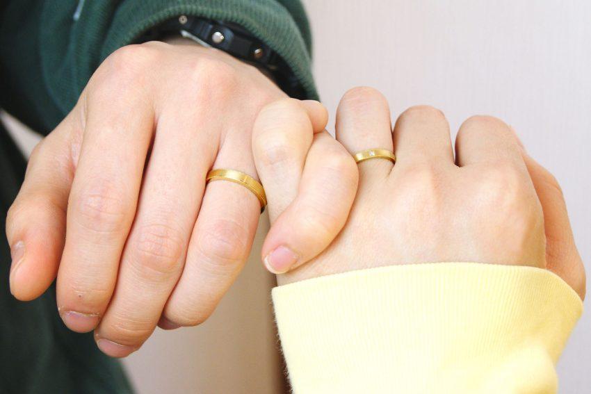 白河市からお越しの神林さんご夫妻の結婚指輪/kazariyaYui福島県郡山市