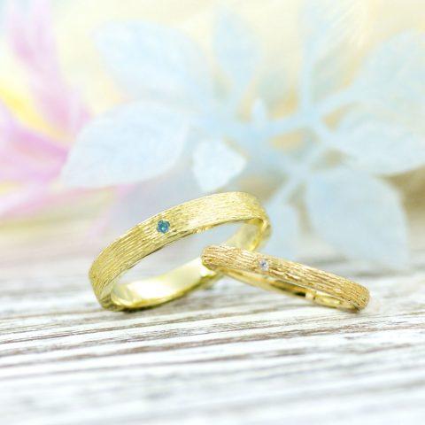 北欧デザインの結婚指輪/kazariyaYui福島県郡山市