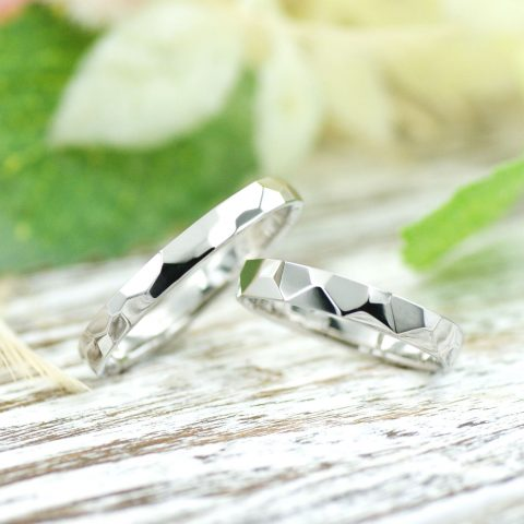 おふたりで手作りした結婚指輪/kazariyaYui福島県郡山市